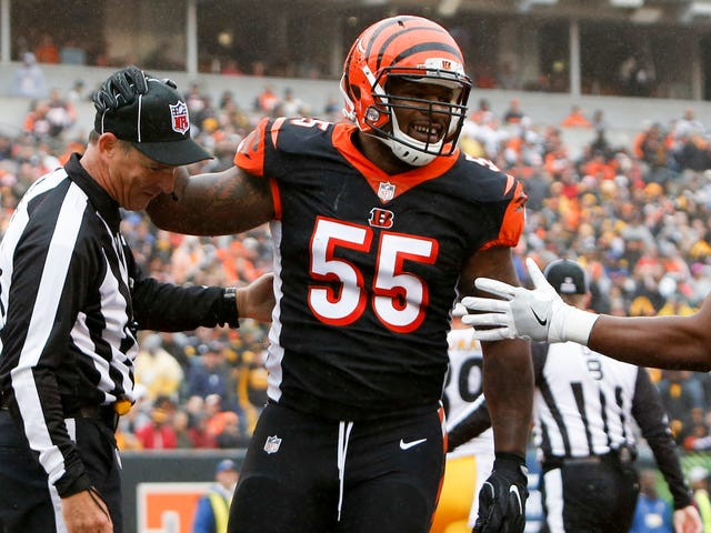 Steelers Want Vontaze Burfict Punished For His Latest Dirty Hit On Antonio Brown