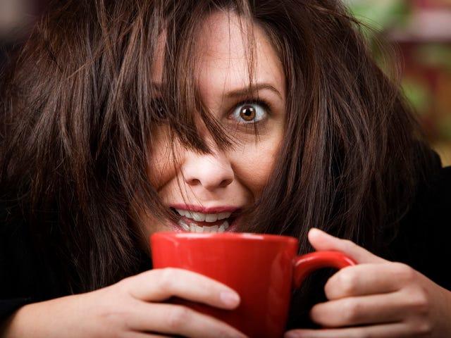 Może nie pijesz 25 filiżanek kawy dziennie?