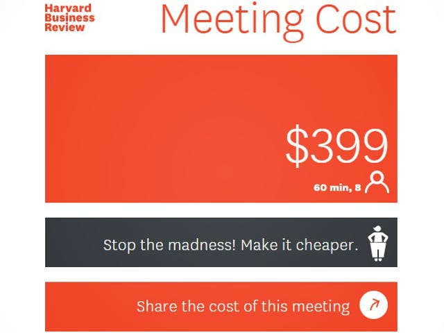 See How Much Unproductive Meetings Actually Cost With This Calculator