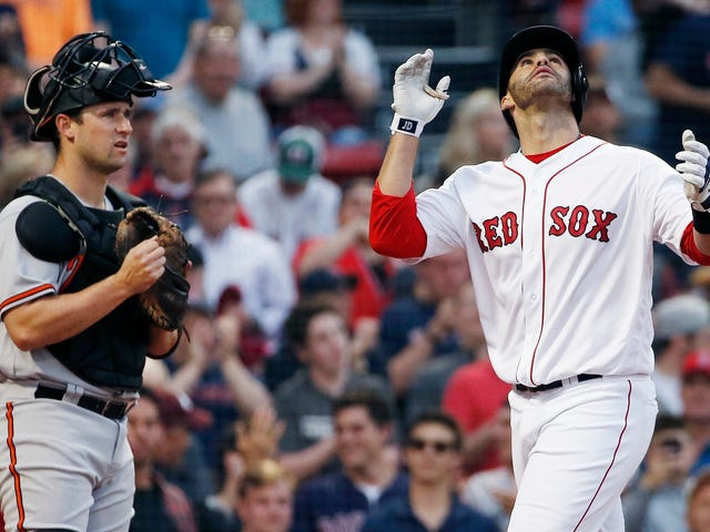 Heck Yeah, J.D. Martinez Is Smashing Dingers Like Clockwork Again