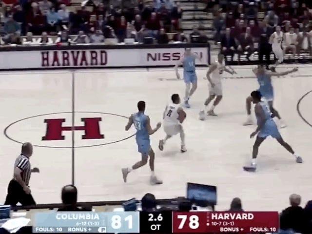 Harvard y Columbia intercambiaron timbres con un salvaje final en tres horas extras