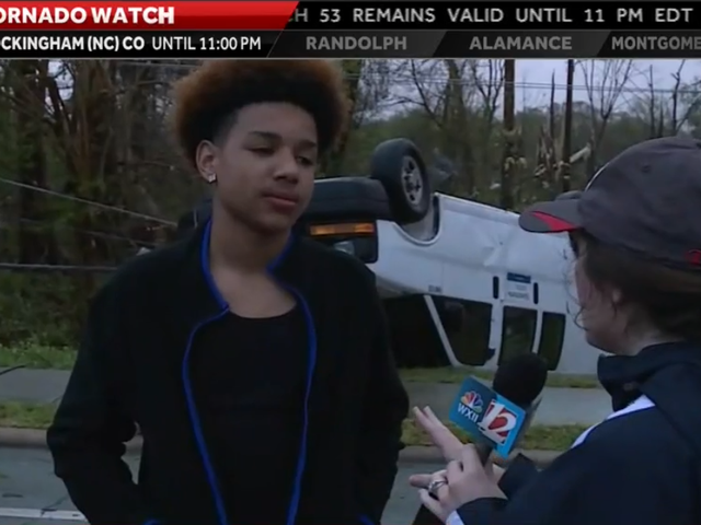 Ketika Tornado Menutup, North Carolina Teen Hanya Terus Bermain <i>Fortnite</i>