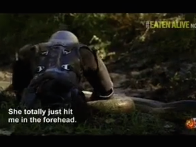 PETA Is Upset Over the Discovery Channel's Anaconda Stunt
