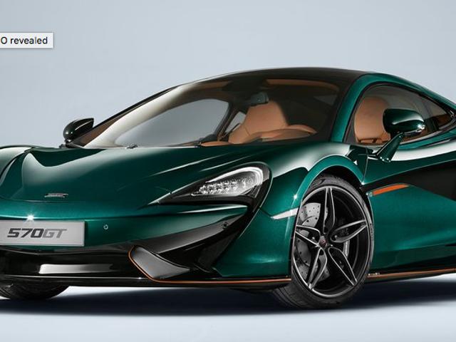"""McLaren 570GT """"XP Green"""" firmy MSO"""