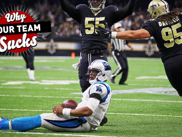 Why Your Team Sucks 2018: Carolina Panthers