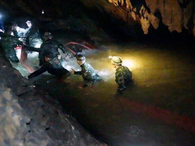 Thai Youth Soccer Team Found Alive After Being Lost In A Cave For Nine Days