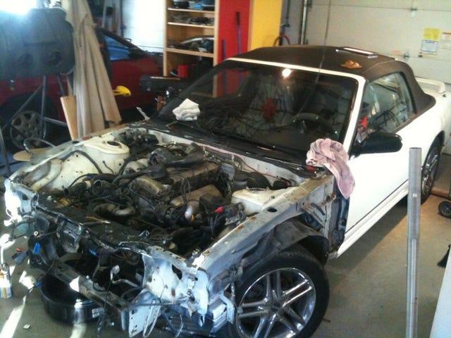 The eBay 240SX Convertible - Part 2: Major Surgery