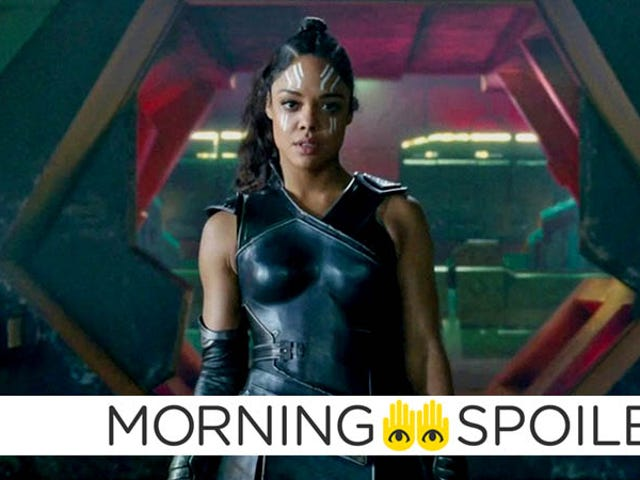 Tessa Thompson Joins Disney's Lady and the Tramp, Details of Kid Flash's Return, and More