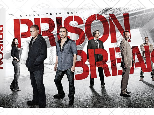 Lock Up This $40 Deal On the Prison Break Collector's Set