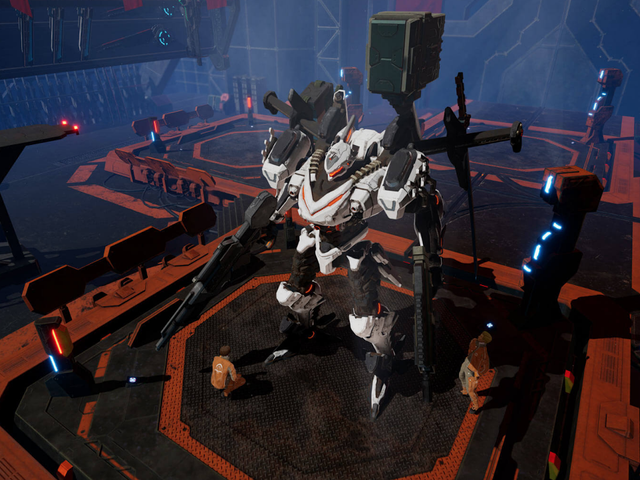 Daemon x Machina's Demo Is Pretty Good