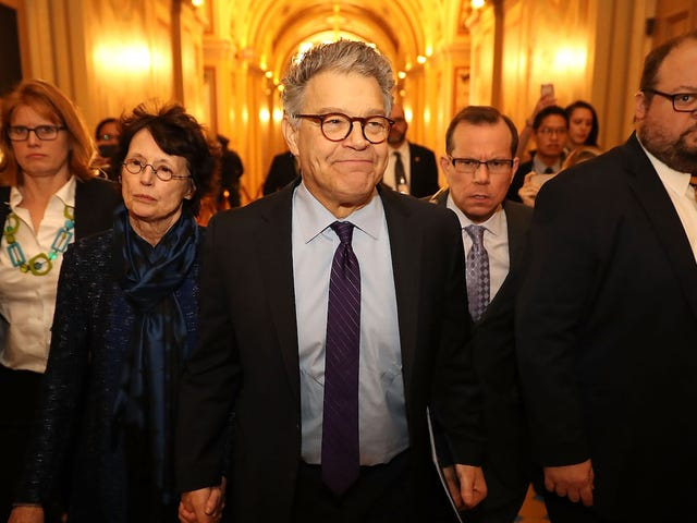 Dem Donor Considers Pulling Support From Lawmakers Who Urged Al Franken's Resignation