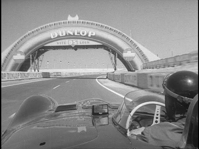 1956 Tour of Le Mans onboard