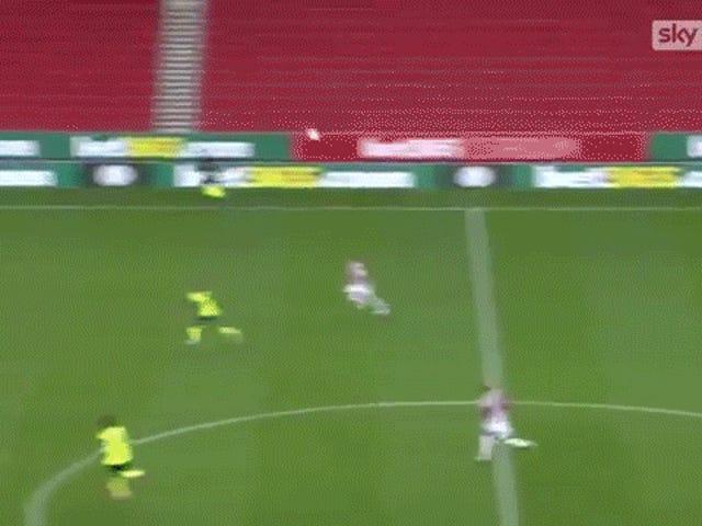 Huddersfield Player Commits One Damn Impressive Boner