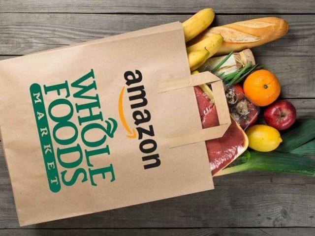 Quatro cidades de sorte são as primeiras para obter a entrega de alimentos inteiros de 2 horas da Amazon