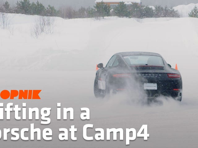 Secrets Of The 'Scandinavian Flick' And Other Ice Driving Tricks