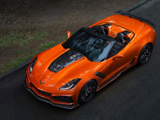 The 755 Horsepower 2019 Corvette ZR1 Starts At $119,995