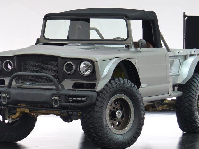 The Jeep M-715 'Five-Quarter' Is a 700+ HP Convertible Military Supertruck