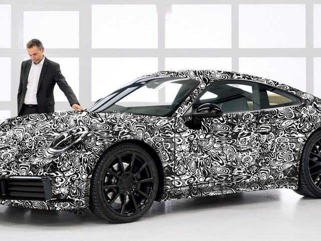 There Seems To Be A Strong Chance The New 992 Porsche 911 Will Get Electrified