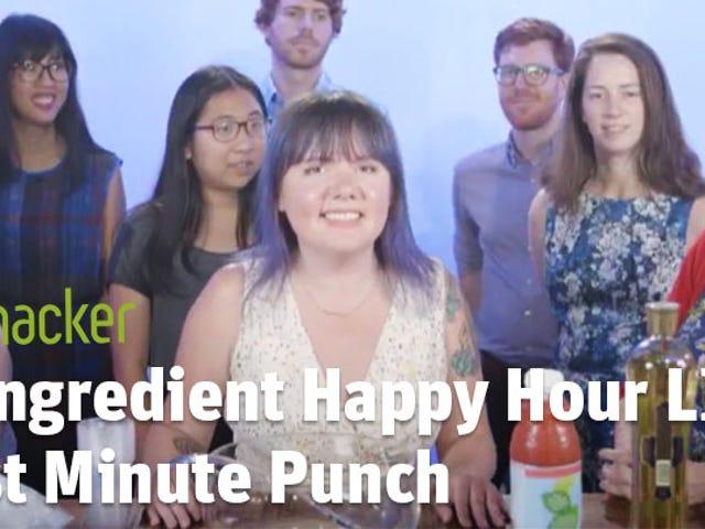 3-Ingredient Happy Hour: Last Minute Punch