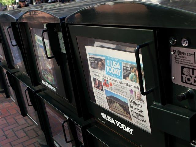 <i>USA Today</i>有趣的是,机器人是Facebook页面的巨大粉丝