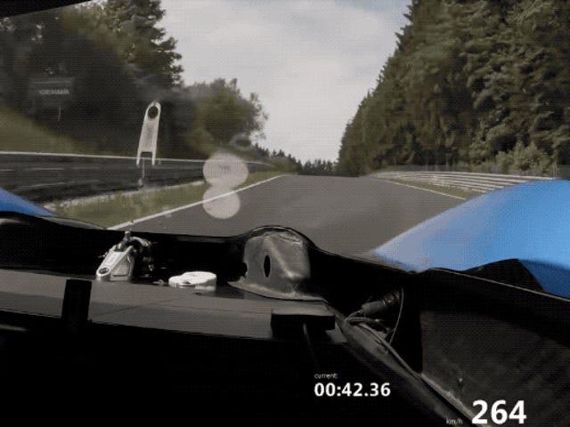 Se Volkswagen ID.  R Sæt dens flydende runde rundt om Nürburgring