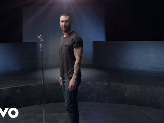 Elke vrouw in de wereld verscheen voor Maroon 5's video voor een lied over meisjes