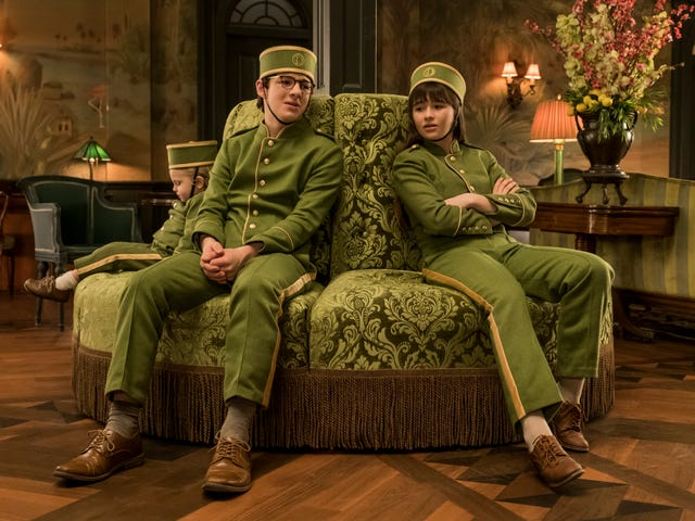 The Baudelaires get into the hotel business in a convoluted Series of Unfortunate Events