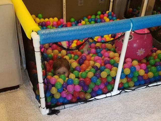 Build Your Own Ball Pit, Germaphobes