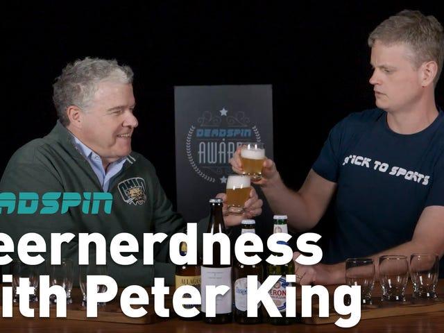 Пітер Кінг прикрасив нагороду Deadspin своєю пивною експертизою