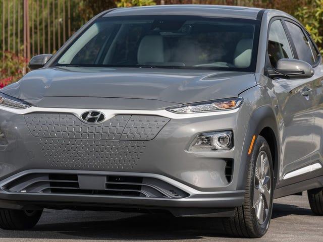 Hyundai Kona Electric ma najmniejszą twarz