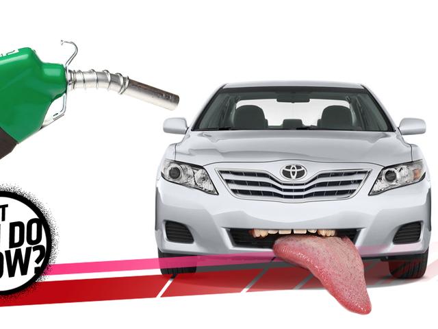 Ik zet Diesel in de benzinetank van mijn auto!  Wat moet ik nu doen?