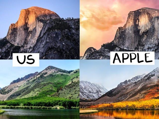 MacOS वॉलपेपर की सबसे प्रतिष्ठित छवियों को फिर से बनाने के लिए कैलिफ़ोर्निया के माध्यम से तीन Youtubers यात्रा करते हैं
