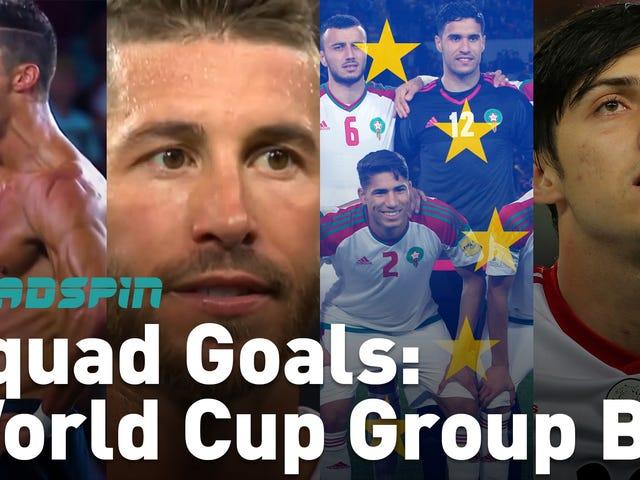 (Casi) Todo lo que necesita saber sobre el Grupo B de la Copa Mundial, en (casi) un minuto