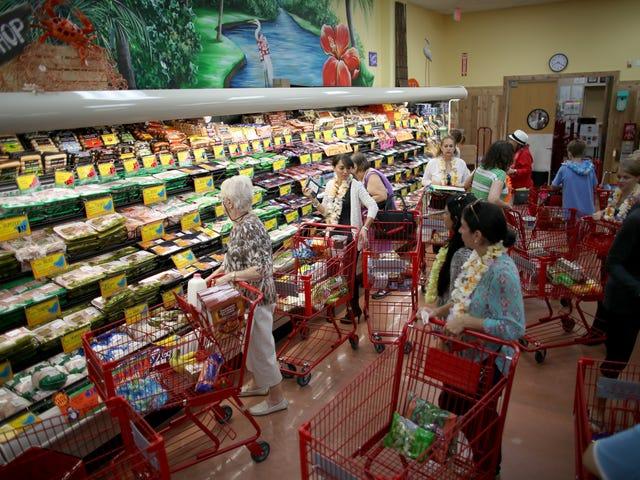 Varios productos alimenticios de Trader Joe, clasificados