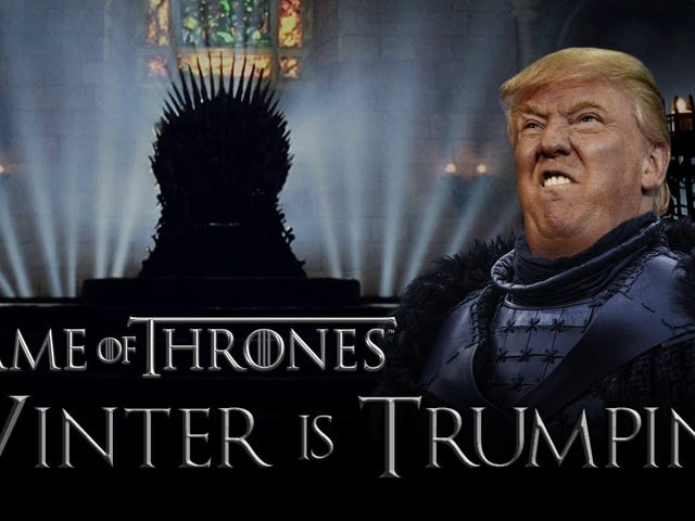 Game of Thrones møder Donald Trump