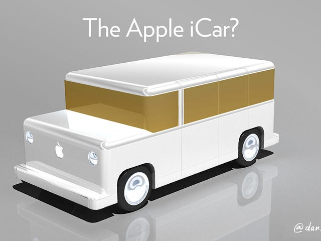 random thought that popped into my head about the Apple iCar. (assuming Apple make one)