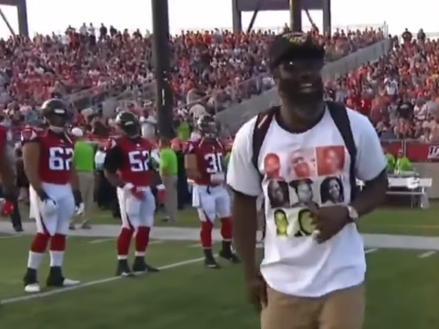 Ed Reed Cements His Status as the Realest, Rocks T-Shirt Calling Out Police Violence to NFL Hall of Fame Game