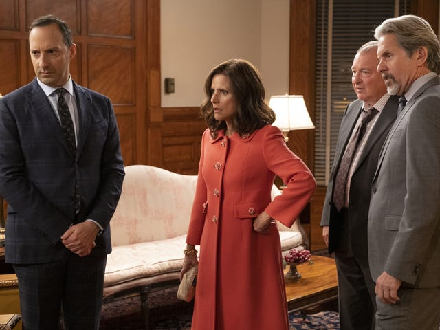 Hijinks ensue on Veep as Selina catches up with an old friend and sells her soul (again)