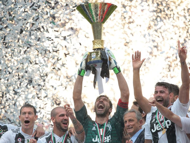 Gianluigi Buffon Ends 17-Year Juventus Career With Win, Serie A Title