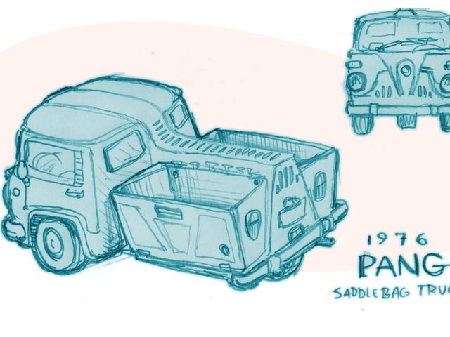 Ένα φανταστικό αυτοκίνητο από μια φανταστική χώρα: 1976 φορτηγό σαγκόλα PANG