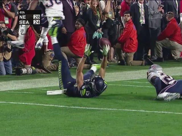 Insane Super Bowl Catch de Jermaine Kearse, au ralenti extrême