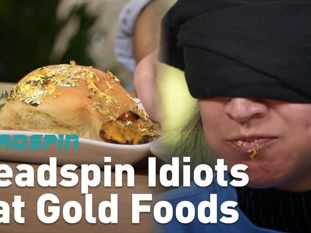 Deadspin Salakları Altın Yemek Yiyor