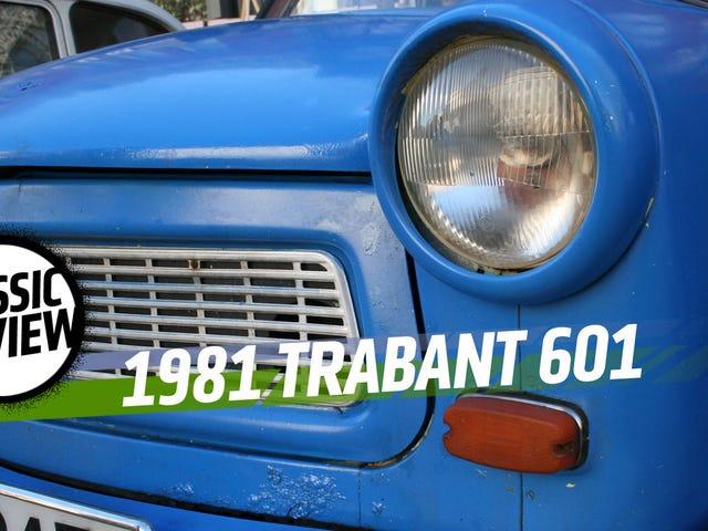 De Trabant is de beste commie auto gemaakt van katoen die we ooit hebben gedreven
