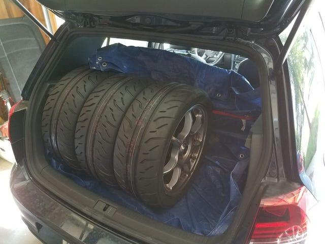 New tires/fun awaits
