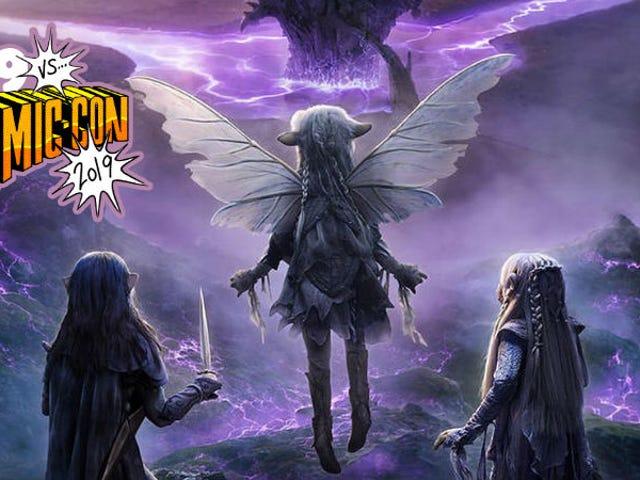 Netflix's Dark Crystal Comic-Con Panel Was the Stuff of Dreams