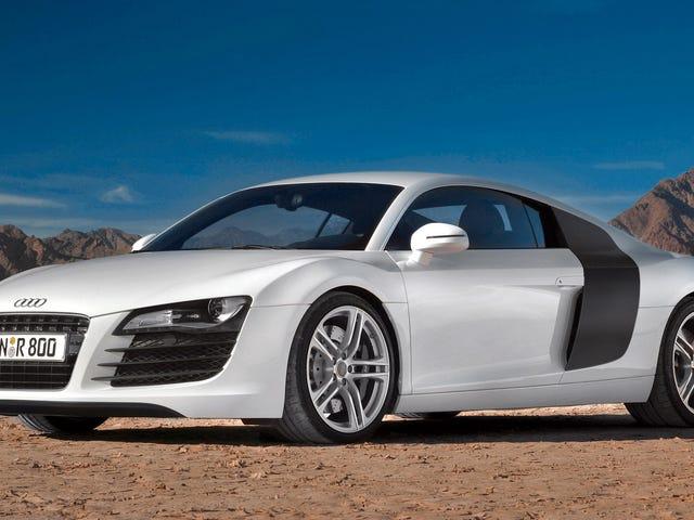 Les gens ne peuvent toujours pas obtenir assez de l'Audi R8