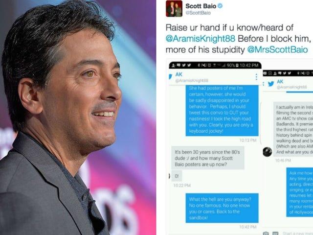 Donald Trump aveva forse apprezzato Scott Baio per aver lottato con gli adolescenti per conto suo