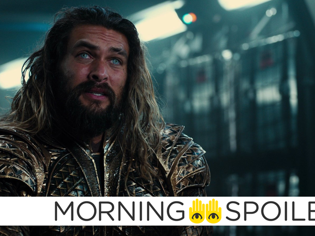 The First Glimpse of Aquaman's New Movie Look