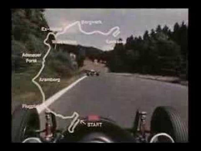 A lap of the Nürburgring, 1967