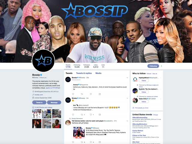 Bossip Smashes Twitter's Tender Cakes to Smithereens With Their Hilarious Headlines
